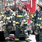 Firefighters in New York by Samantha Mooney