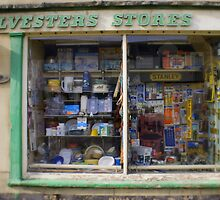 Faded Shop Window by jomfix