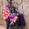 MAASAI GRANDMOTHER - KENYA by Michael Sheridan