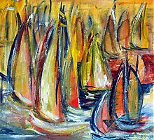 Boats 4 by Wendy Eriksson