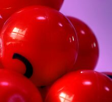 Red Balls by Harlequitmix