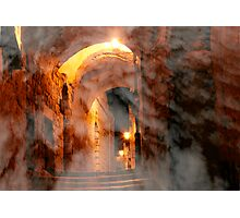 Heavenly alley Photographic Print