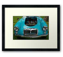 The art of the car: MGA 1600 Mk II (1958) Framed Print
