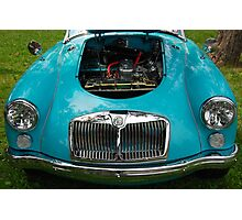 The art of the car: MGA 1600 Mk II (1958) Photographic Print