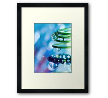 Water and Spring III. Framed Print