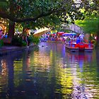 San Antonio RiverWalk at Dusk by kellimays