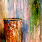 The Sap Bucket...A Still Life by  Janis Zroback