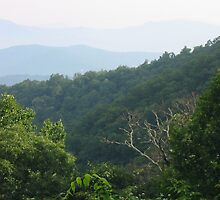 Smoky Mountains, Blue Ridge Parkway 2 by the2masks