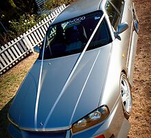 R34 Wedding Car by Kieron Nolan