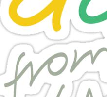 G'day from WA Sticker