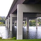 I-90 Bridge to Mercer Island by Mike Cressy