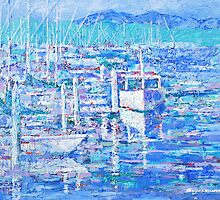 ventura harbor impression by gerardo segismundo