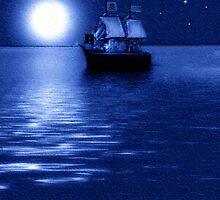 ~ THE PIRATE SHIP ~ by Madeline M  Allen