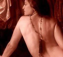 Bare-back & Tassle by deahna