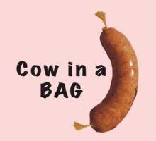 Cow in a bag. by Darren Stein