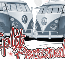 Split Personality Sticker