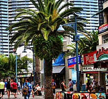"""""""Cavill Avenue""""...Surfers Paradise by Sue  Fellows"""