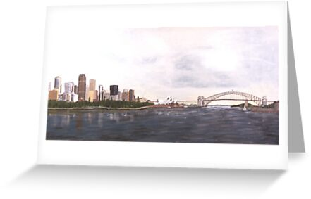 Sydney Harbour by Bob Hardy