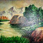 landscape by azizhounti