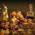 Still  Life Luncheon .    by Irene  Burdell