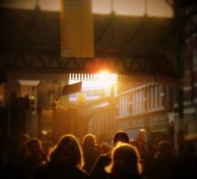 Sunset and Borough Market by fruitcake