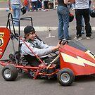 Electric Bolt Car #5 by Sam Dantone