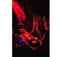 Red DJ's Photographic Print