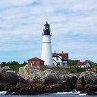 Portland Head Light. by William Brennan