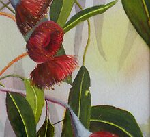 Gum Flowers by Sandra  Sengstock-Miller
