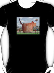 Backyard Wilbur T-Shirt