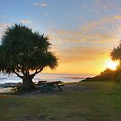 Yamba Sunrise by Christopher Meder