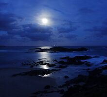 Sawtell Moonrise by Christopher Meder