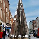 Exeter City Centre #4 Obelisk of Riddles by DonDavisUK