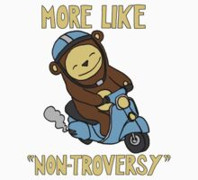 Non-Troversy Bear on Scooter by tommchenry
