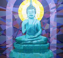 Prismatic Buddha -Spirituality, Peace and Serenity by Joseph Barbara