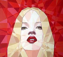 Prismatic Seductive Expression by Joseph Barbara