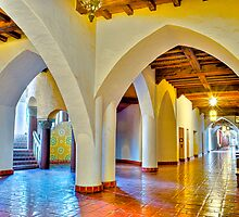 Santa Barbara Courthouse by Eyal Nahmias