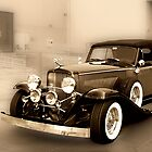 1934 Duesenberg at the Loading Dock by TWindDancer