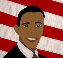 Fiber Obama by evamay