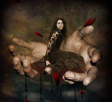 Love Lies Bleeding (in my hands) by Anji Johnston