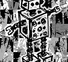 Sketched Robot by Roseanne Jones
