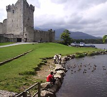 Ross Castle Killarney County Kerry Ireland by James Cronin