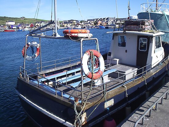 Fishing Boat Dingle County Kerry Ireland by James Cronin