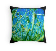 Little People Throw Pillow