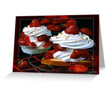 Strawberry Shortcake Greeting Card