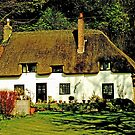 Abbey Cottage by Catherine Hamilton-Veal  