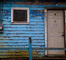 Blue House by ShahnaChristine .