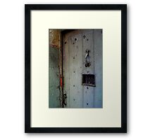 Ned Kelly Walked Through This Door Framed Print