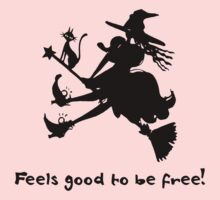 Feels good to be free! < innerWitch Story- Step 7 by hoodiesWall