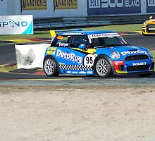 Sandown 400 2008 Grant Denyer Mini Challenge by Jamie Rutter